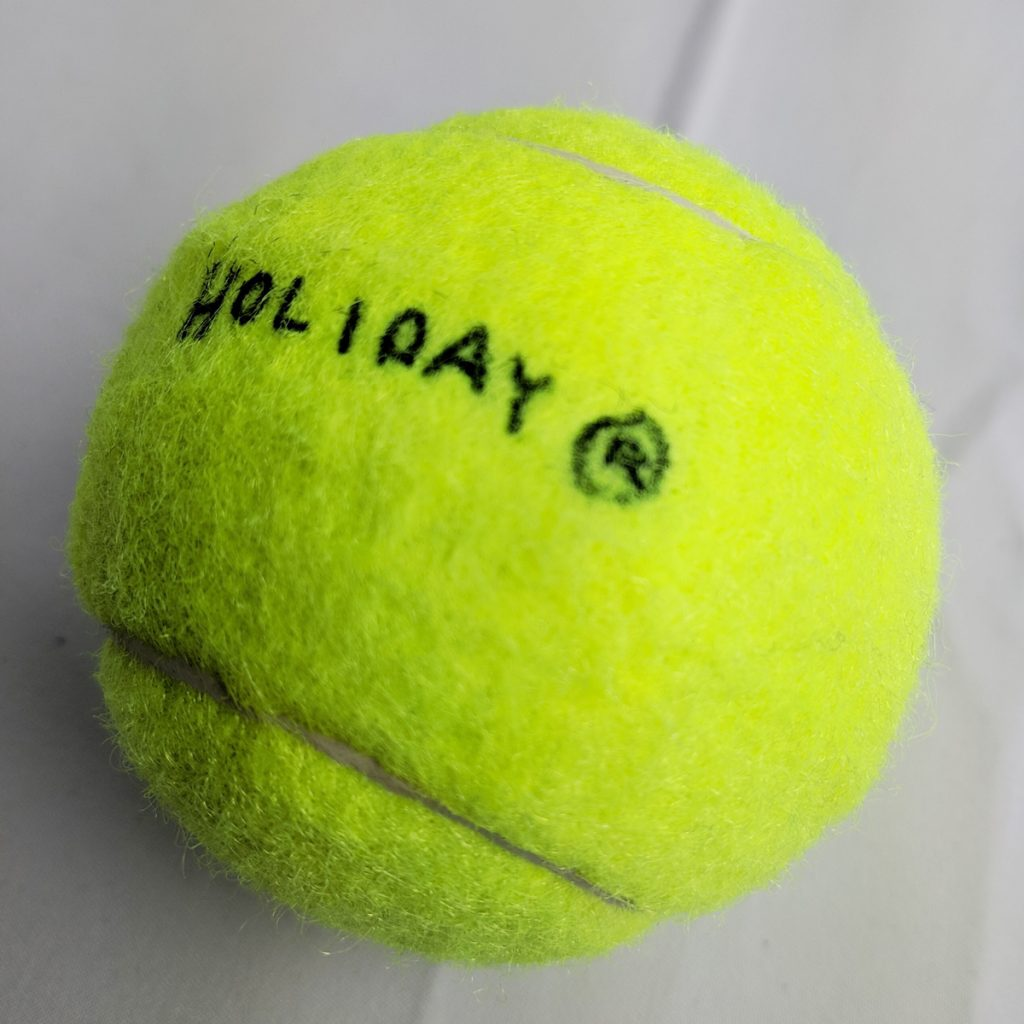 level-press-holiday-tennis-ball-custom
