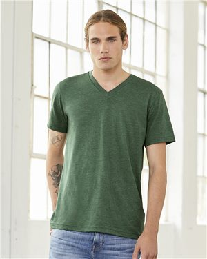 Bella + Canvas 3415 Short Sleeve V-Neck Tee