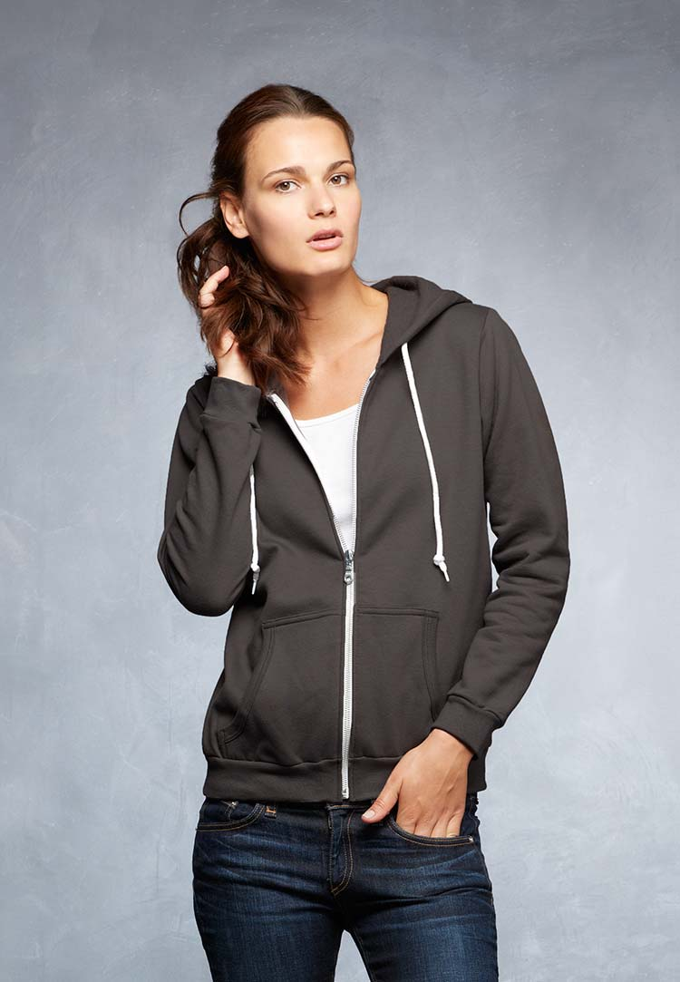Women's Full-Zip Hooded Fleece